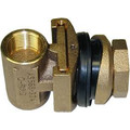 """1"""" Tapped Pitless Adapter w/ 1/4"""" Tapping for Underground Tanks / Dirty Water"""