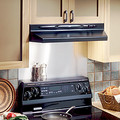 "30"" Black Under Cabinet Range Hood (200 CFM)"