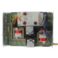 Combination Protector Relay and Hydronic Heating Control with High limit: 10 F fixed, low limit/circulator, Junction box mount (10 F to 25 F)