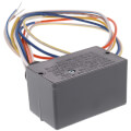 Enclosed Pilot Relay, 10 Amp, SPDT, 1 HP, 24 Vac/DC/120-277 Vac Coil