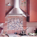"36"" Stainless Steel Wall Mount Chimney Hood w/ Internal Blower (450 CFM)"