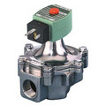 "1"" 2-Way Normally Closed Low Pressure Gas Solenoid Valve w/ DIN Connections (1,119,000 BTU)"