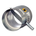 "12"" Round Static Pressure Regulating Damper"