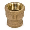 "1"" x 1/2"" FIP Brass Coupling (Lead Free)"