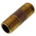 """1/4"""" x 1-1/2"""" Brass Nipple"""