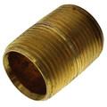 "3/4"" Brass Nipple Bundle Pack (Close to 6"" Length)"