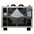 "VHR Series Heat Recovery Ventilator w/ Fan Shutdown Defrost, 6"" Top Ports"