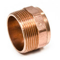 """2"""" Copper DWV Male Street Adapter (FTG x Male)"""