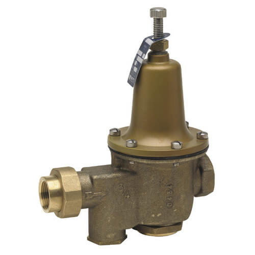 "1-1/4"" LFU5B-LP-Z3 Low Pressure Reducing Valve with Bypass Feature, Lead Free"