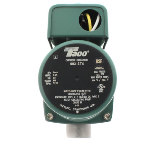 003 st4 taco 003 st4 003 stainless steel circulator 1 40 hp 003 stainless steel circulator 1 40 hp product image