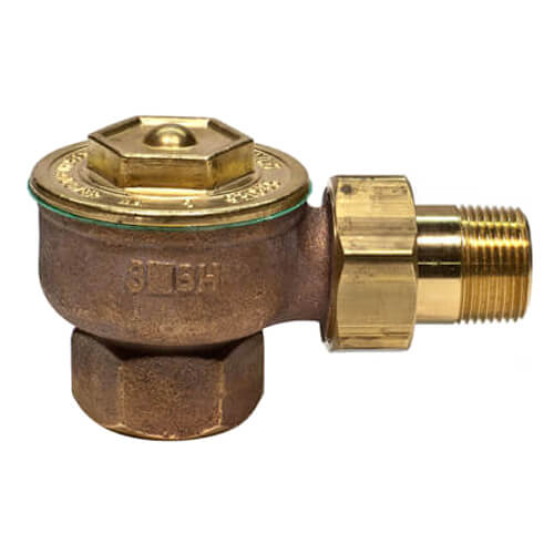 "1GLHC, 1/2"" Corner (Left) Radiator Steam Trap"