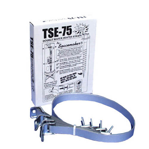 TSE-75 Water Heater Strap Kit for Water Heaters up to 75 Gallons