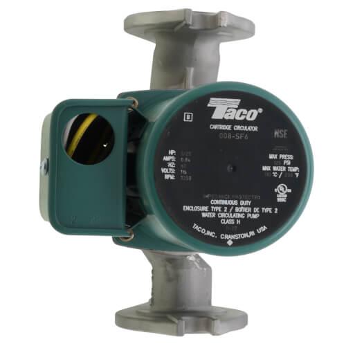 008 sf6 taco 008 sf6 008 stainless steel circulator 1 25 hp 008 stainless steel circulator 1 25 hp product image