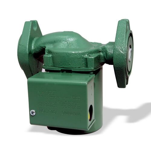 00R 3-Speed Cast Iron Circulator w/ Integral Flow Check - Rotated Flange, 1/20 HP