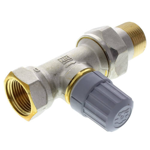 "3/4"" Side Mount Angle Thermostatic Radiator Valve"