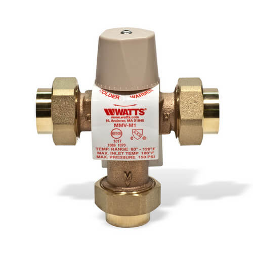 "1/2"" MMV-UT M1, Threaded Mixing Valve"
