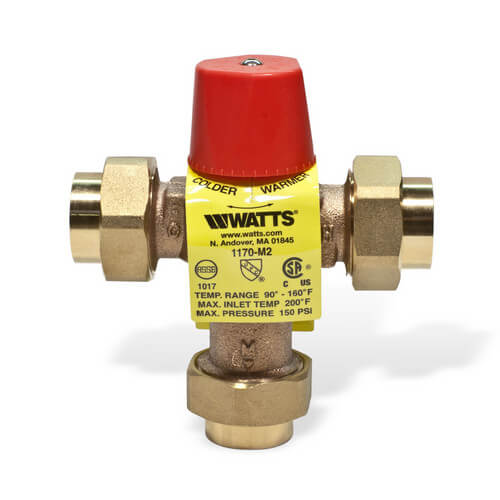 "3/4"" 1170-UT M2 Threaded Mixing Valve"