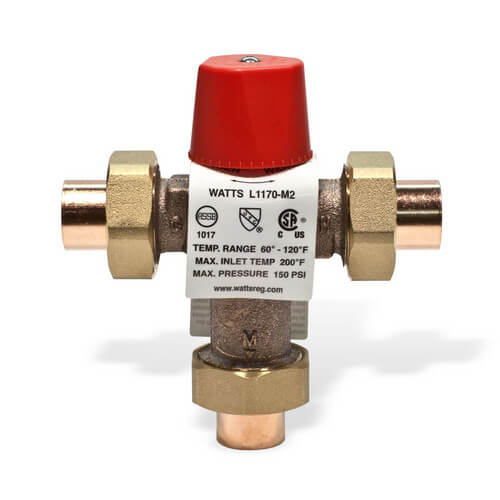 "3/4"" L1170-US M2 Sweat Lo-Temp Mixing Valve"