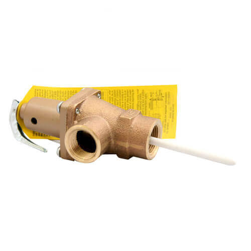 "3/4"" 140X-5 Relief Valve w/ Extension Thermostat"