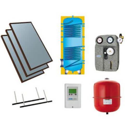 02770050 02770050 plug and play solar system kit for. Black Bedroom Furniture Sets. Home Design Ideas