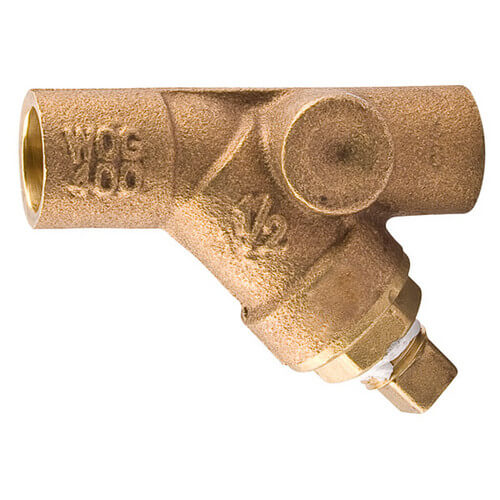 "1-1/4"" 777SI Bronze Wye Strainer (Threaded)"