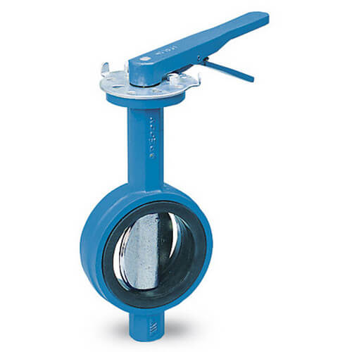 "4"" DBF-04 Series Wafer Style Butterfly Valve (Lead Free)"