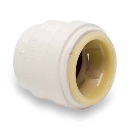 "Polysulfone Quick-Connect End Stop, 1"" CTS"