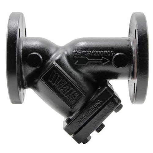 """8"""" 77F-DI-125 Cast Iron Wye Strainer Product Image"""