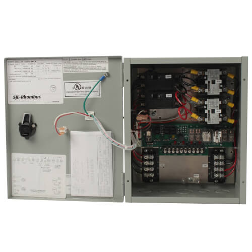 Electrical Alternator Duplex Control Panel, 115/200/230V (NEMA 1 Enclosure)