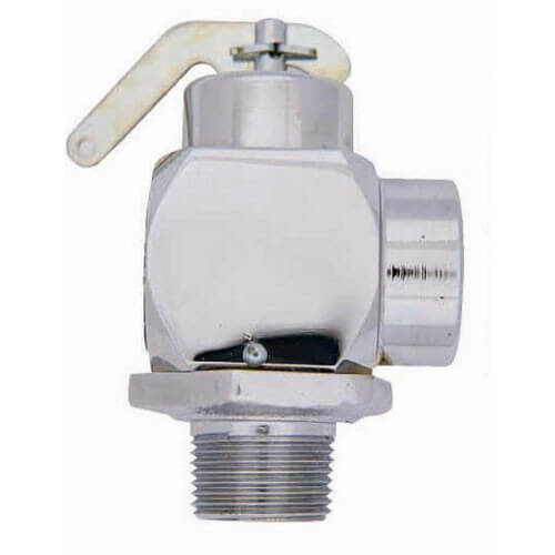 "3/4"" RVS32 Safety Relief Valve (Chrome Finish)"