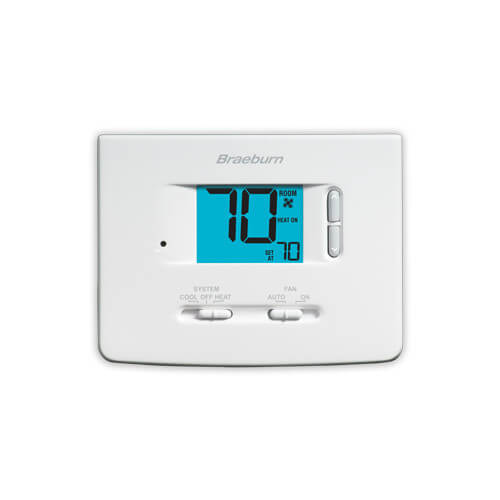 Single-Stage Dual Powered Thermostat