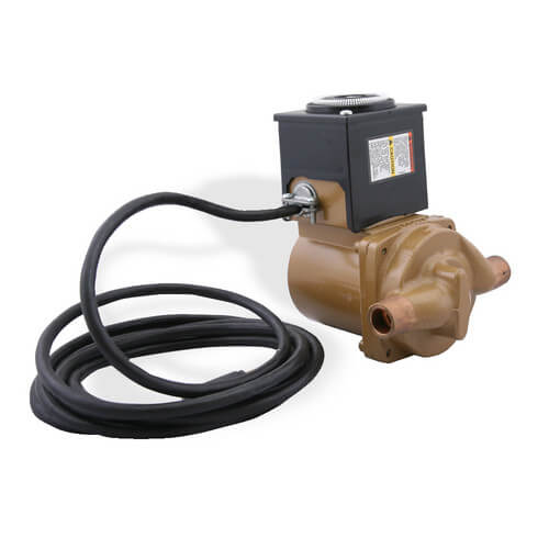 NBF-8S/TP Bronze Circulator Pump, 1/40 HP