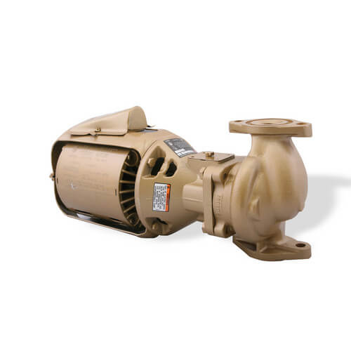 1/12 HP, Series 100 Bronze BNFI Circulator Pump