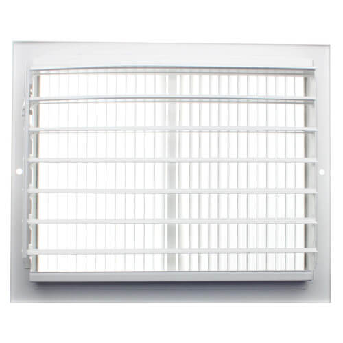 "10"" x 8"" White Sidewall/Ceiling Register (661 Series)"
