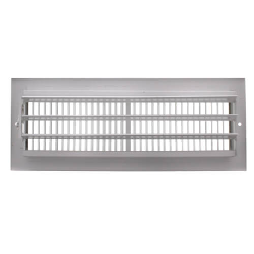 "12"" x 4"" White Sidewall/Ceiling Register (661 Series)"