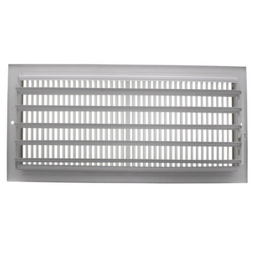 "14"" x 6"" White Sidewall/Ceiling Register (661 Series)"