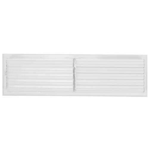 "24"" x 6"" White Sidewall/Ceiling Register (661 Series)"