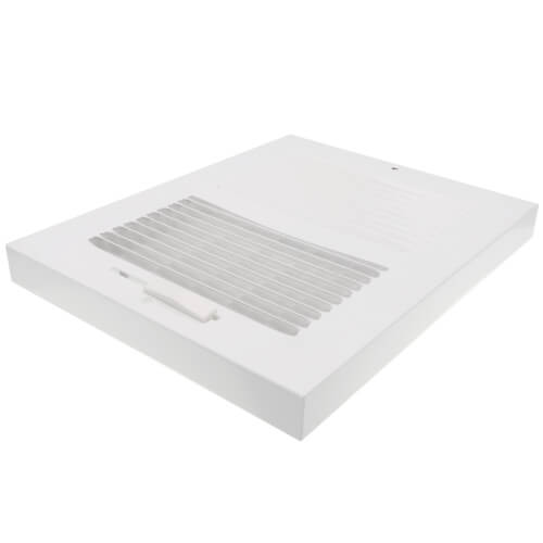 "8"" x 6"" White Sidewall/Ceiling Register (661 Series)"