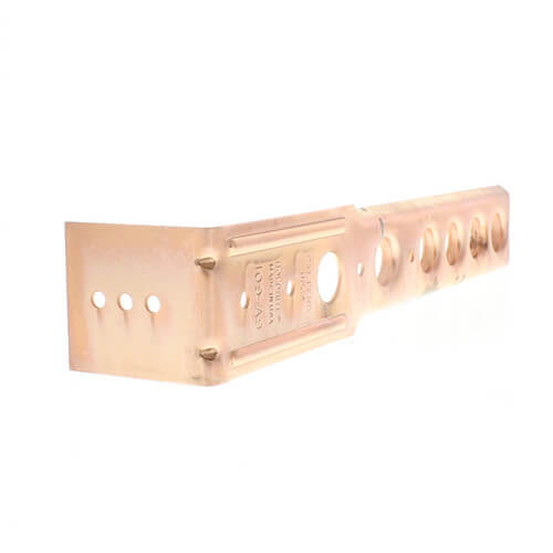 "1/2"" Copper Bracket for Toilet (9-1/2"" Height)"