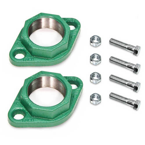 "1"" Taco Iron Freedom Flange (Pair)"