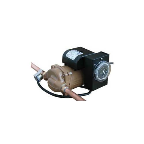 """25B050S-TA (1/2"""" Sweat) Re-circulator Pump w/ Timer & Aquastat, 0-13 GPM Product Image"""