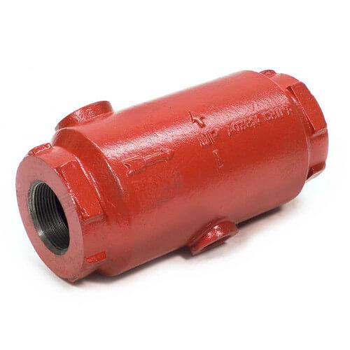 Bell gossett quot inline air separator