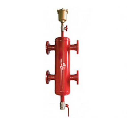 "4"" Primary/Secondary Header - 4 Outlets (Flanged)"