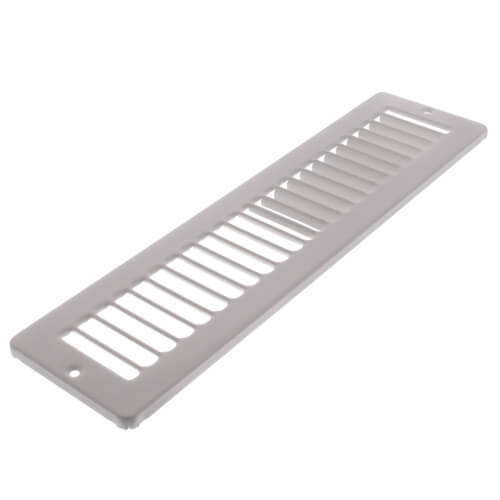 "12"" x 2"" White Toe-Space Grille (420 Series)"