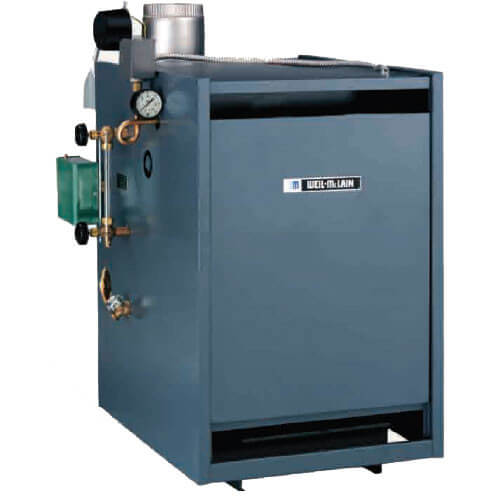 EG-40, 125,000 BTU Standing Pilot Steam Boiler (Nat Gas)
