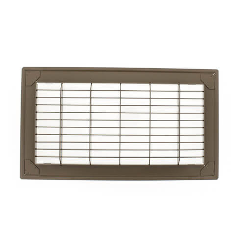 "14"" x 30"" Golden Sand Floor Return Air Grille (265 Series)"