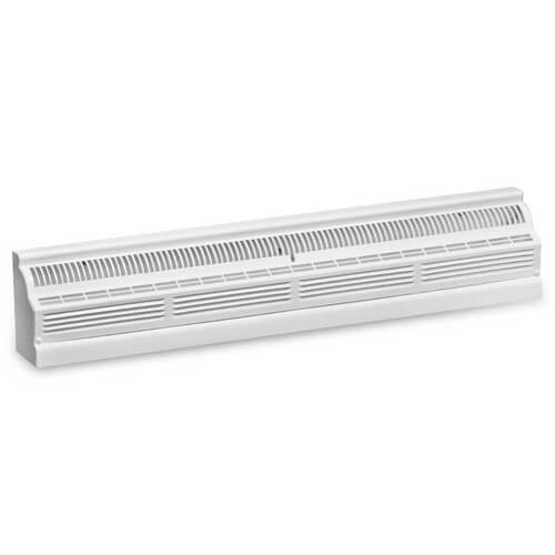 "30"" x 8"" White Baseboard Return Air Grille (657 Series)"