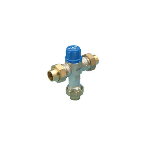 "1/2"" Thermostatic Mixing Valve 95 to 115°F (Union Sweat)"