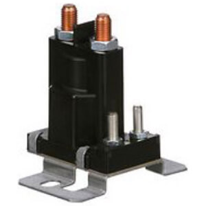 Solenoid w/ Intermittent Duty, Normally Open Continuous Contact Rating 80 Amps (12 VDC Isolated Coil)