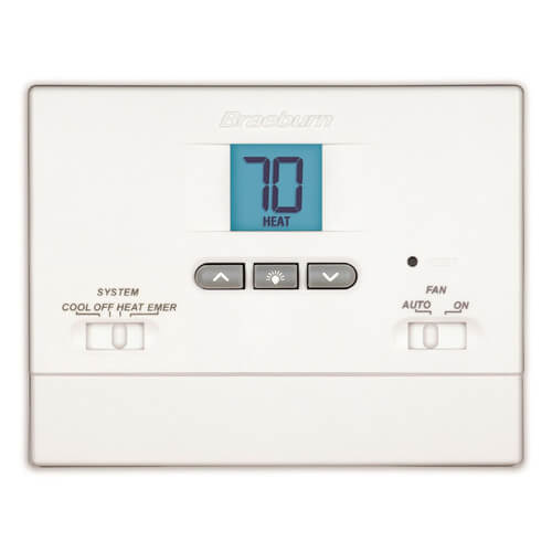2 Heat/1 Cool Non-Programmable Economy Thermostat Product Image